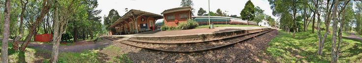 Inchanga Railway Station as it appears today.  This is a 360 deg panorama shot.  Taken by Bruce D Bennett