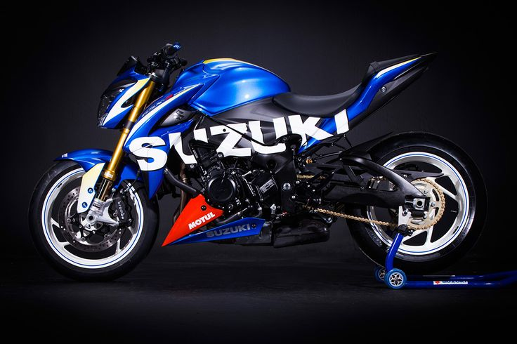 """Suzuki GSX-S 1000 by HPC-Power . I think this model will be the one to """" paint job"""" once they are in the used market, just like the cult GSX/ R range, amazing lines"""