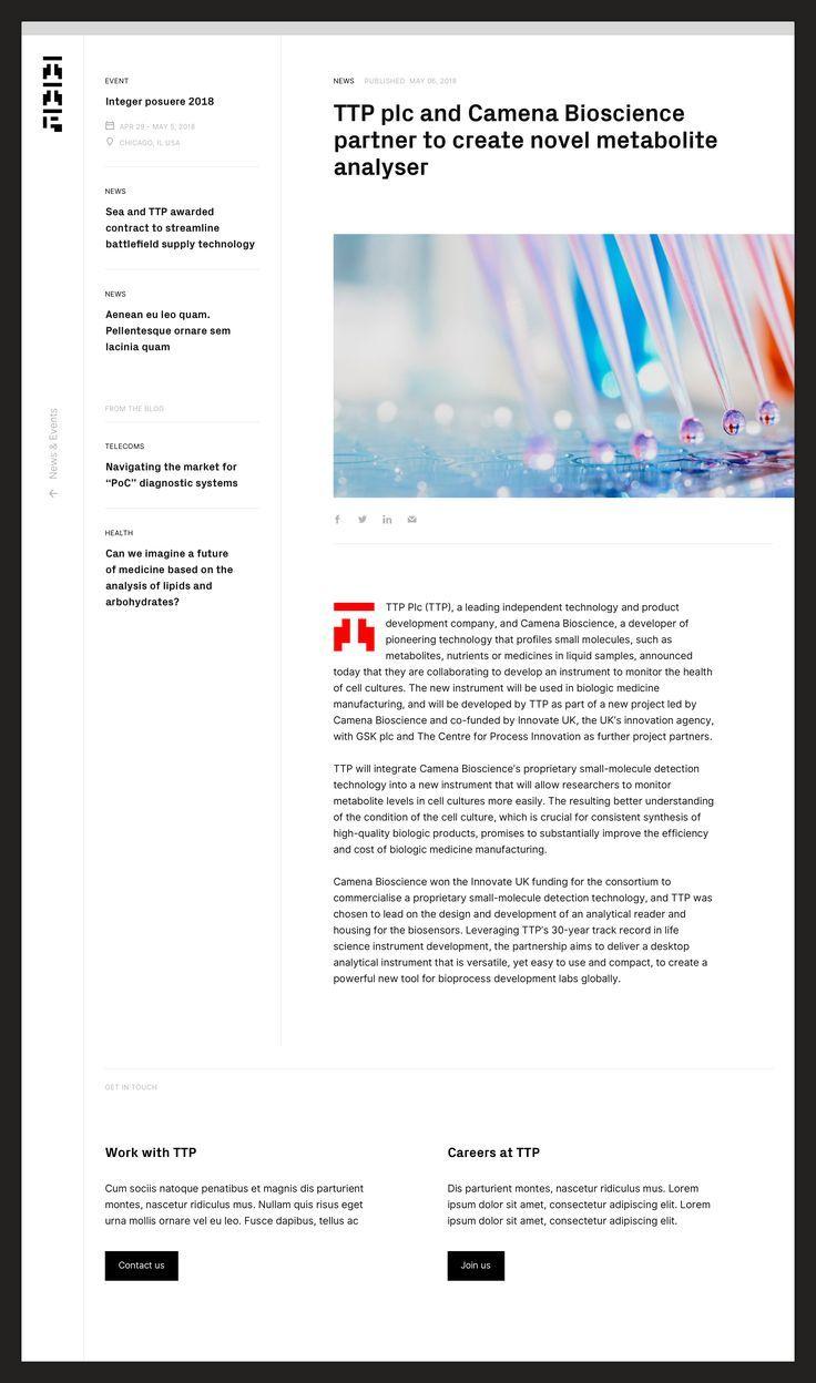 Technology News Websites Future Tech In 2020 News Web Design News Website Design Web Design