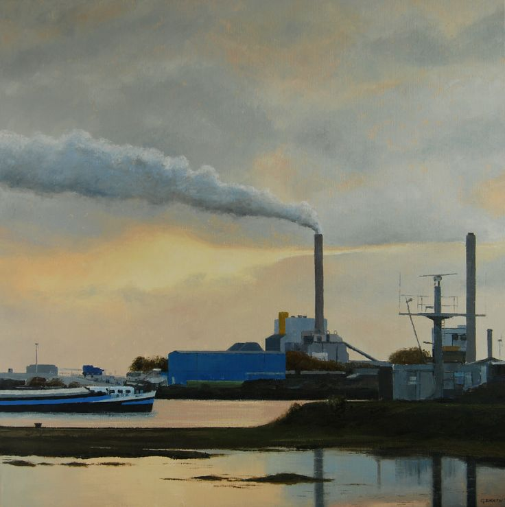 Harbour Amsterdam by Gineke Zikken