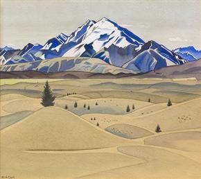Mount Maud, 1938 by Rita Angus