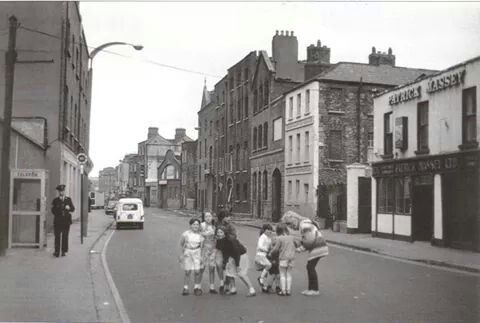 The Coombe, Dublin, 1980's.
