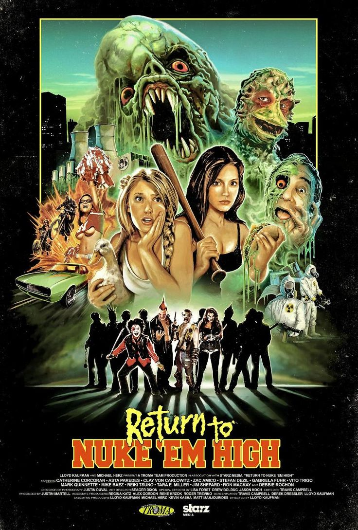 Return to Nukem High movie poster