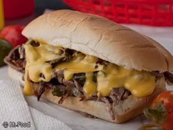 This recipe for Philly Cheese Steak Sandwiches is the closest version you can get without taking a trip to the City of Brotherly Love! This traditional Philly Cheese Steak recipe will surely win you raves!