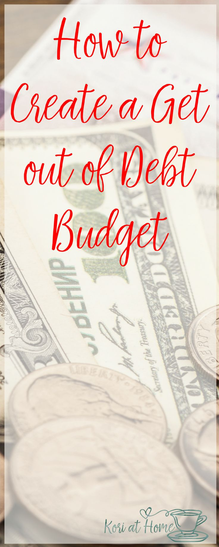 Creating a budget can be a great tool to help you get out of debt. Here's how to do so.