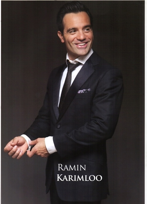 Ramin Karimloo. One of my favorite musical voices. See him acting/singing on the West End? Yes, please.