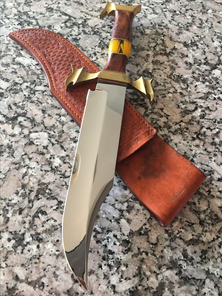 Gorgeous Daryl Hibben Custom knife!  1 of a kind!