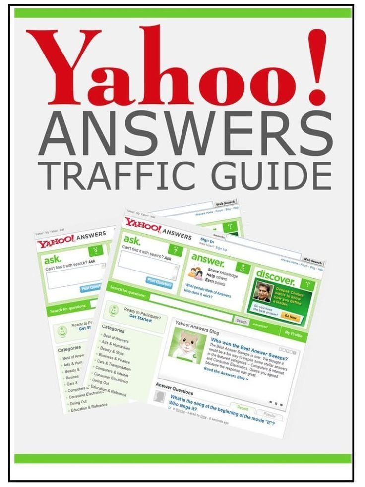 The Yahoo Answers Traffic Guide ebook Master Resell Rights