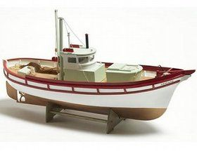 The Billing Boats 1/20 Monterey wooden ship model measures 49cm long, 14.5cm high and 12.5cm wide. This wooden boat kit is highly realistic with many fi...