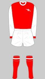 1969-1978 Arsenal Kit
