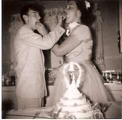 July 31 1960 My paternal grandparents tied the knot.