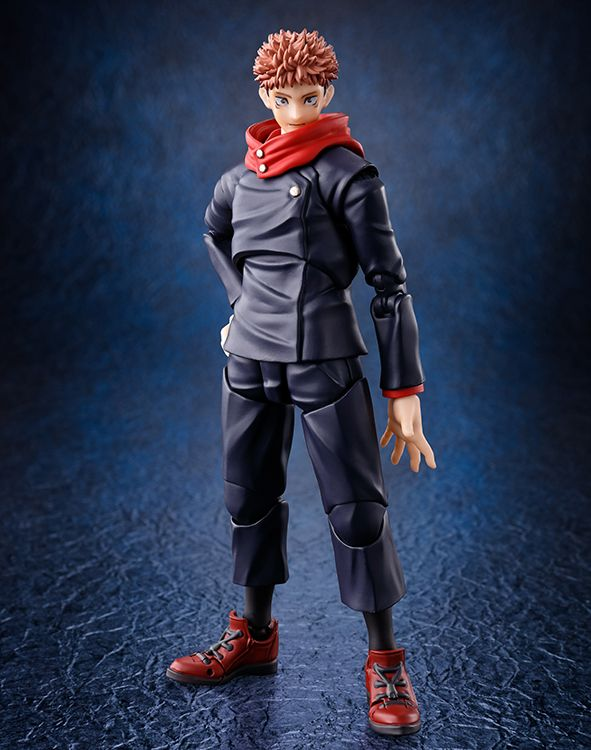 Jujutsu Kaisen Yuji Itadori S H Figuarts Action Figure In 2021 Jujutsu Game Character Design The Incredibles