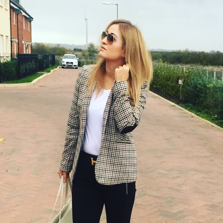 Tweed jacket , autumn style