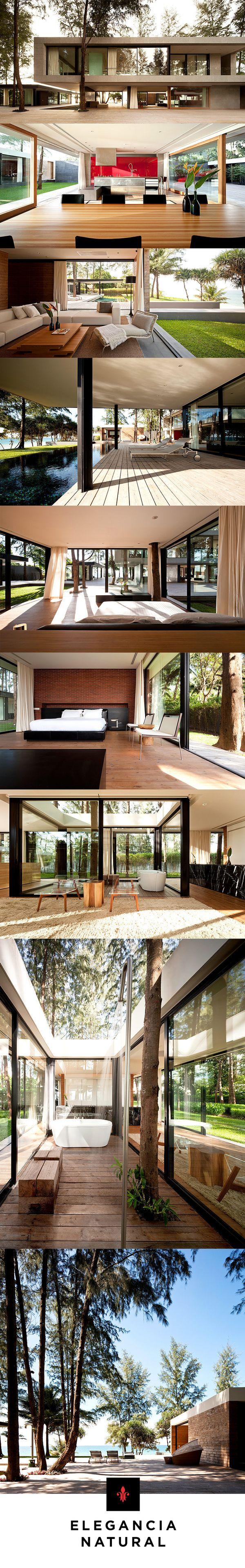 Casa vacacional en Phuket, Thailandia | Modernidad de alto confort