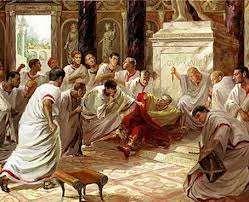 Muerte de Julio César en Roma