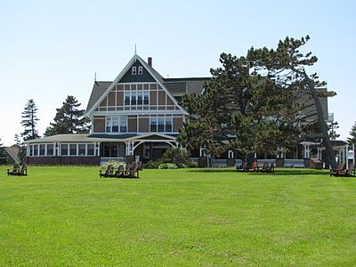 """The """"White Sands Hotel"""" from Anne of Green Gables and Road to Avonlea, Prince Edward Island"""