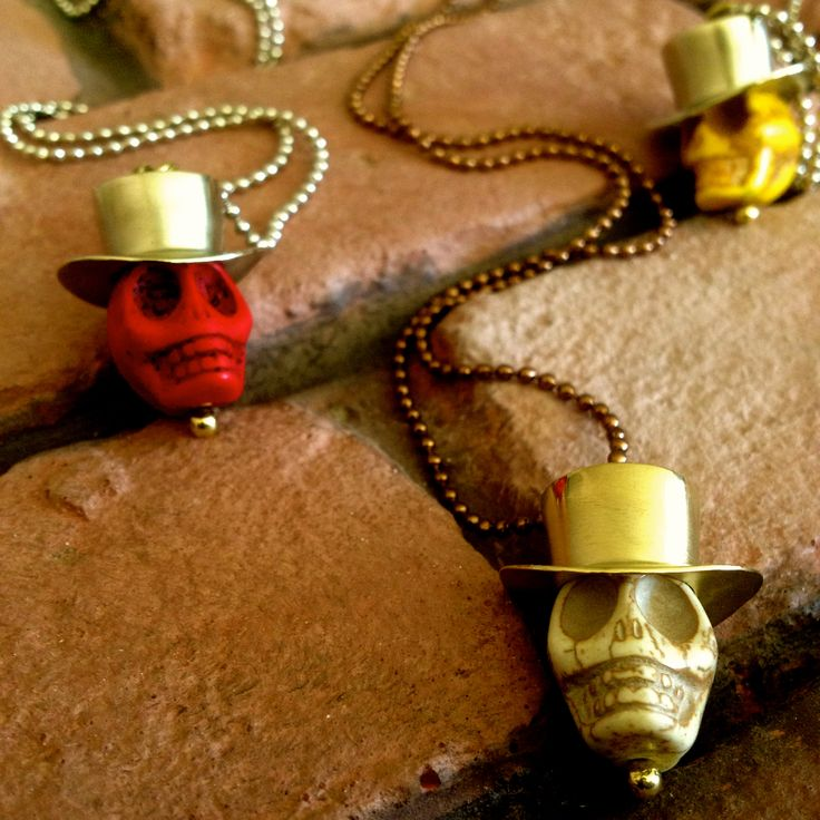 Skull Hat Necklace