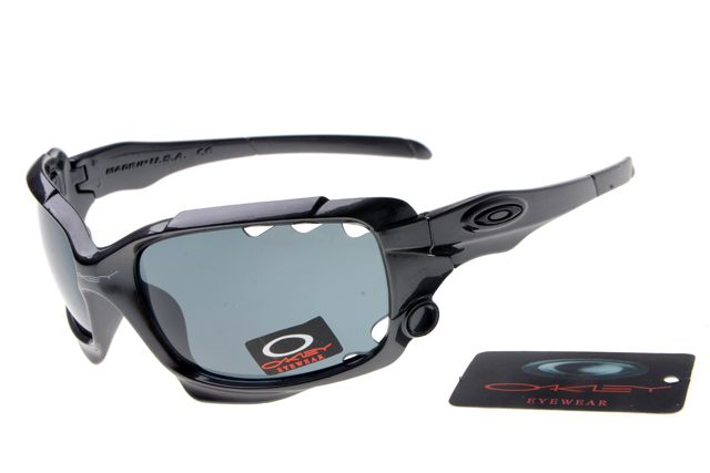 Oakley Jawbone Sunglasses Black Frame Gray Lens 0658 [ok-1658] - $12.50 : Cheap Sunglasses,Cheap Sunglasses On sale