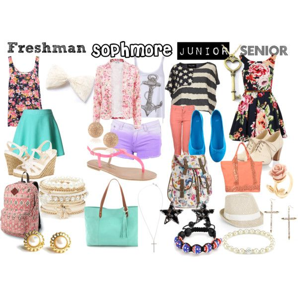 """First Day of School High School Years"" by animallover67 on Polyvore"