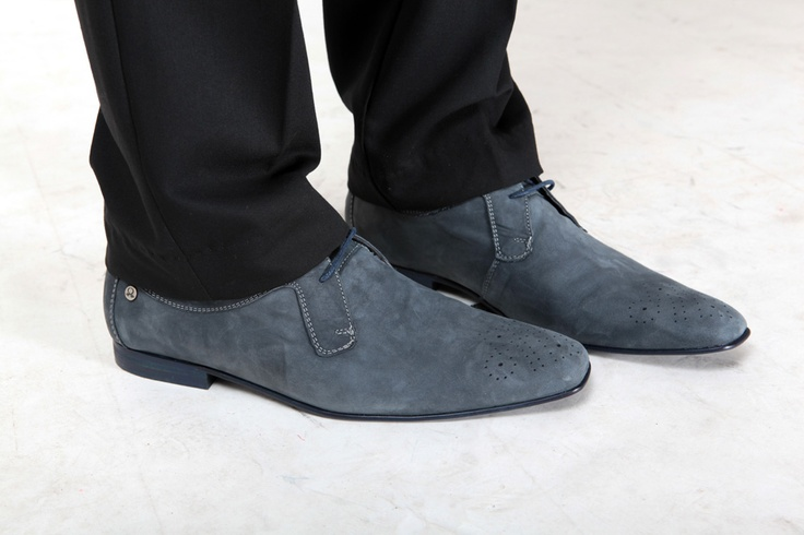 Zapatos para Caballero Gamuza, Disponibles en azul, gris, café y negro.