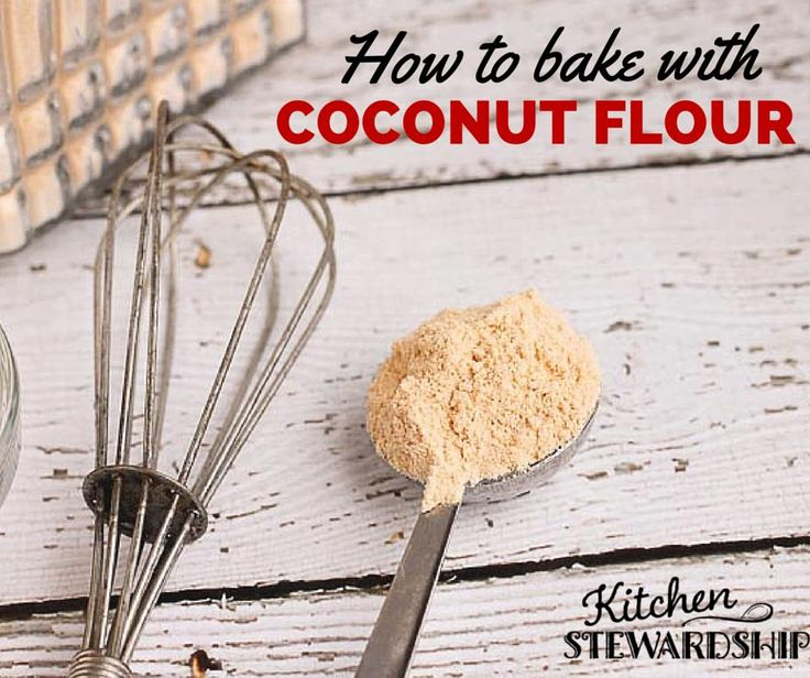 How to use coconut flour in baking (and what NOT to do!) Grain free baking with coconut flour is nothing like regular baking.