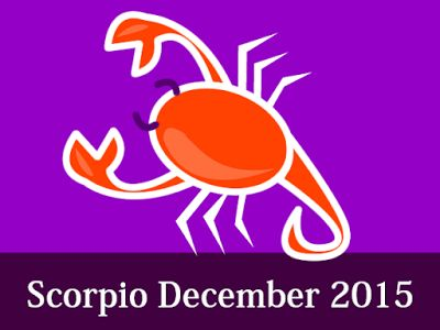 Your Daily, Weekly, Monthly Horoscope Forecast 2016 Susan Miller: Scorpio Horoscope Forecast December 2015