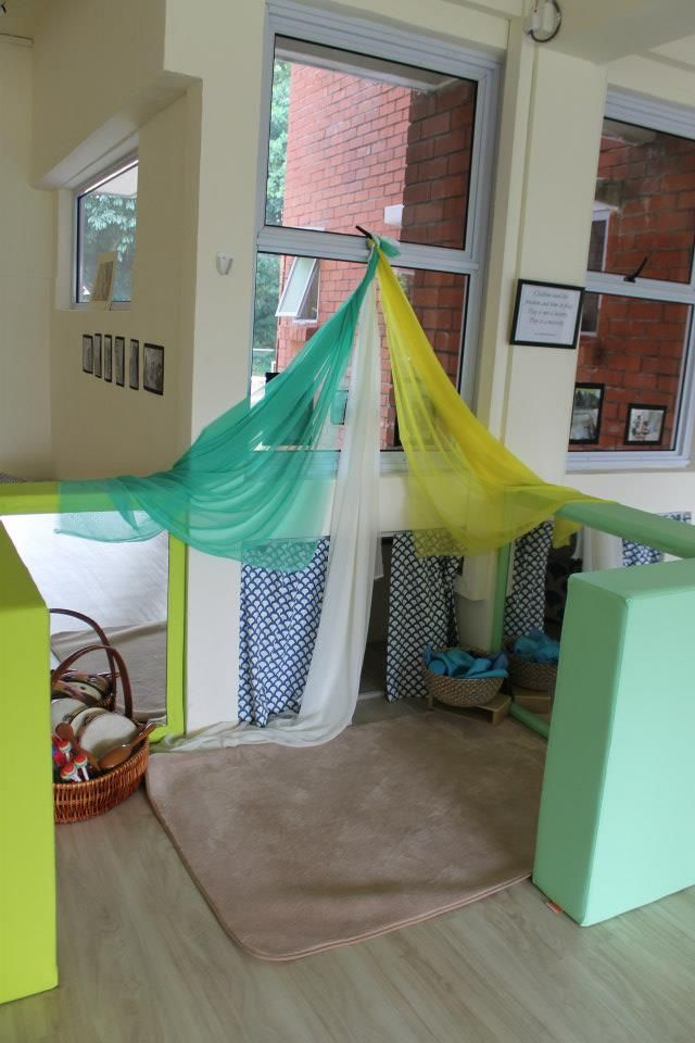 Cozy nook at the Infant and Toddler Atelier ≈≈