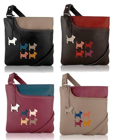 Radley Four Dogs Bag. How cute!