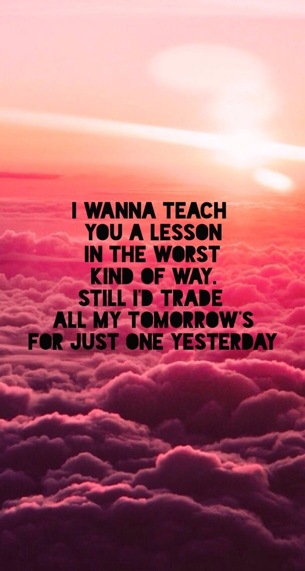 Just One Yesterday ~ Fall Out Boy