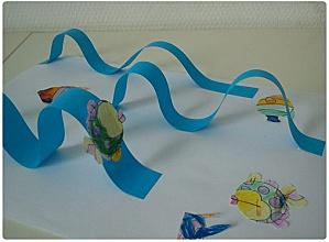 Art plastique - Peinture à la… - Arbre en papier… - Kaaba - chemise pour abi - Petits poissons - Le blog de la petite madrassa des bigors