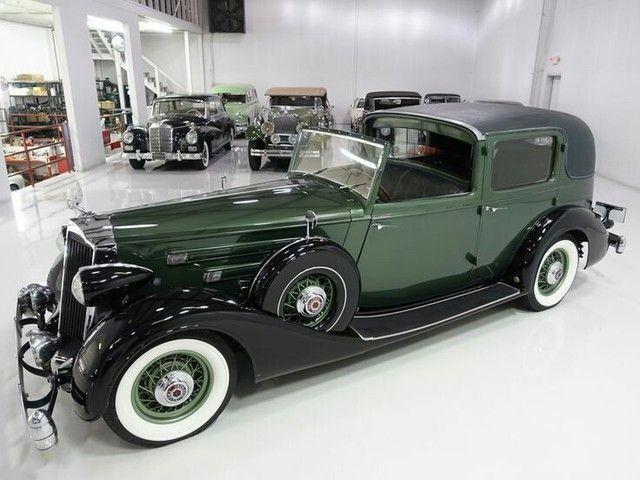 Charlie Chaplin's 36 Packard
