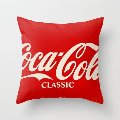 Coca-Cola Classique Throw Pillow