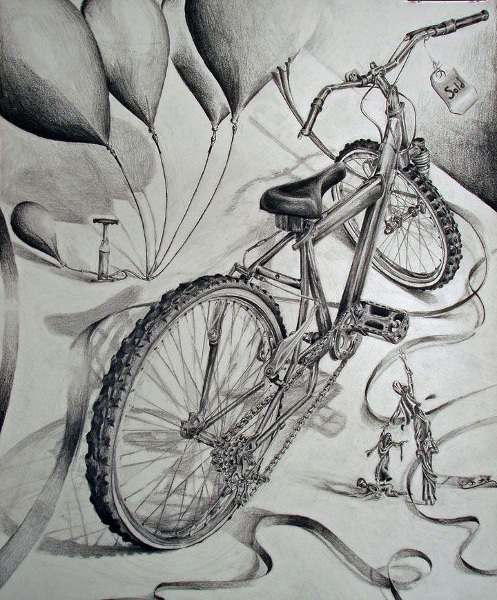 karakalem bisiklet