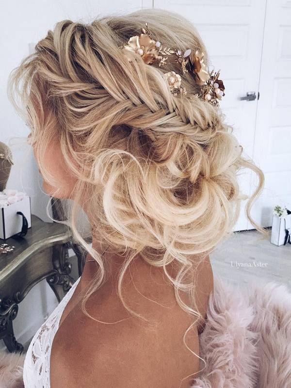 Brilliant 1000 Ideas About Romantic Wedding Hairstyles On Pinterest Short Hairstyles Gunalazisus