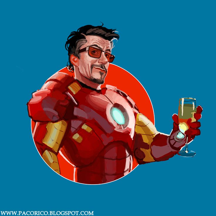 Iron Downey by Francisco Rico Torres