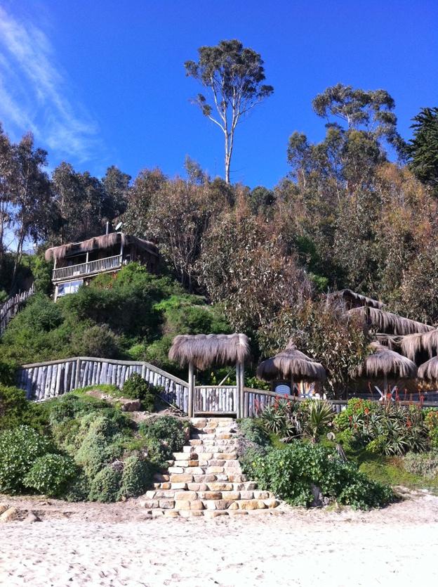 Horcon, Chile. Playa CauCau