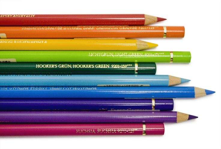Faber-Castell Polychromos Pencils. Superior pigments, unsurpassed lightfastness, brilliant colours. #fabercastell #polychromos #pencilcrayon #artsupplies