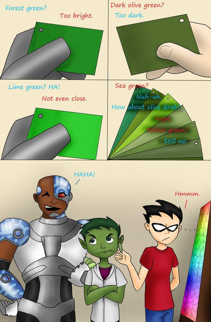 Teen titans cyborg and jinx erectis maximus 2