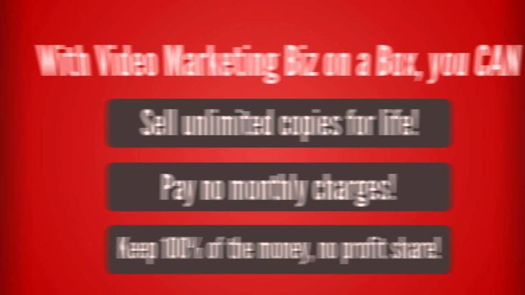 **Video Marketing Biz in a Box Monster PLR - Video Marketing Complete PLR   This killer PLR just launched! Grab and download your copy plus its bonus! Click http://terraffiliate.com/product/video-marketing-biz-box or watch at http://youtu.be/of5ZZyc91LA