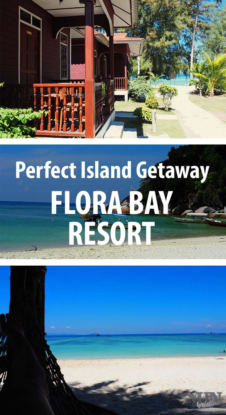 A perfect island getaway - White-sand beaches, crystal clear water & numerous hammocks to relax | Flora Bay Resort at Perhentian Island in Malaysia