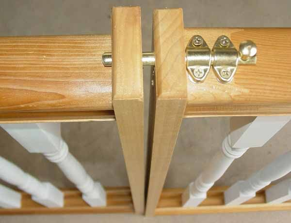 How to Install Your Wooden Swing Gate - Ideal Dog Gate and Safety Gates in Your Size and Styles