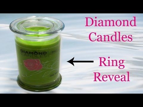 Diamond Candles Ring Reveal - Rosewood Candle + Promo Code!