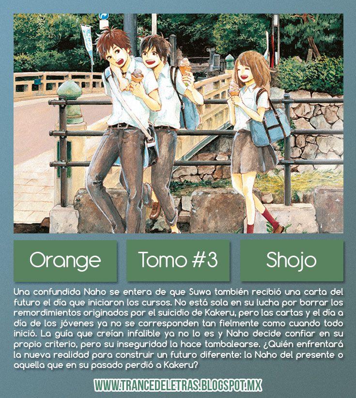 Opinión Manga: Orange #3 de Ichigo Takano