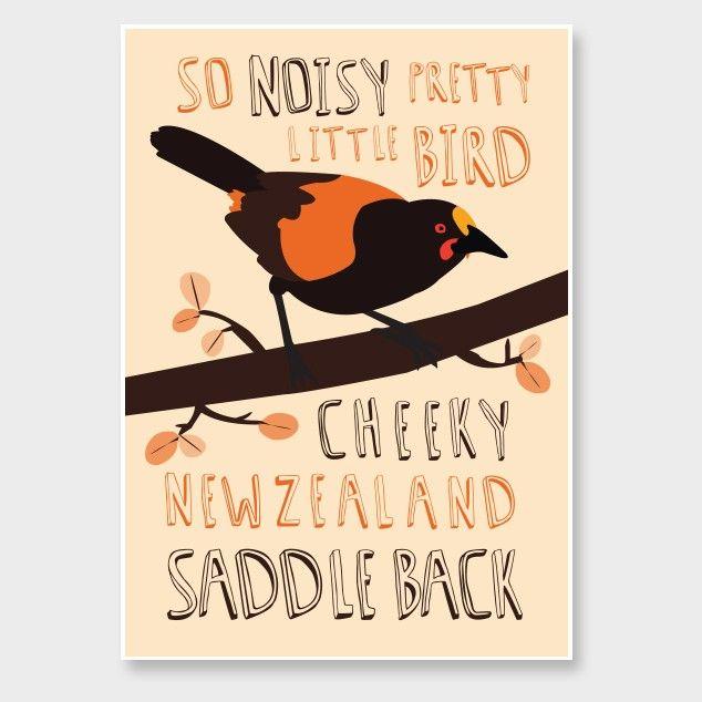 Saddleback Art Print by Alice Berry