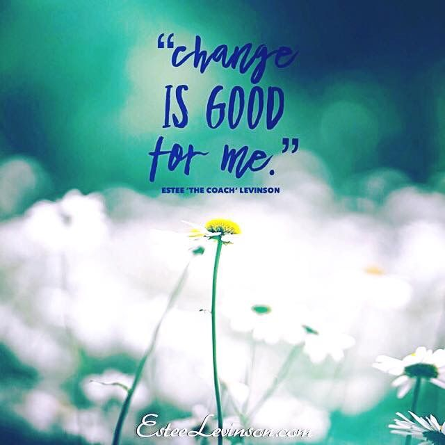 I know that change is good for me, therefore I will always search for ways to improve the quality of my life, and the lives of the people around me.  Much love  Estee 💗  #love #coaching #enlightenment #soul #spirituality #yoga #exercise #peace #winning #passion #hope #inspiration #confidence #success #relationship #quotes #motivation #meditation #mastery #mindfulness #healing #happiness #life #grow #create #change #challenge #lifestyle #future #women