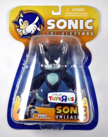 "Sonic Unleashed Exclusive Sonic the Werehog 6 """" Figures"