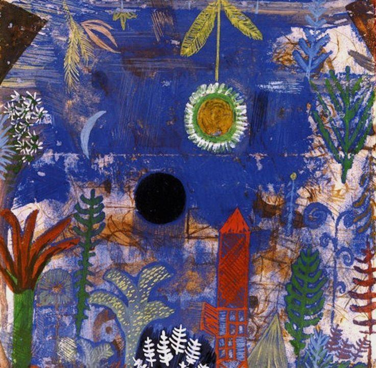 Paul Klee, Versunkene Landschaft, 1918