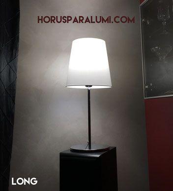 Paralume in tessuto modello Long! Segui la nostra bacheca!  #lampshade #paralume