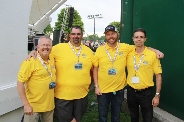 Our Musicfest Directors volunteer their time at the park!