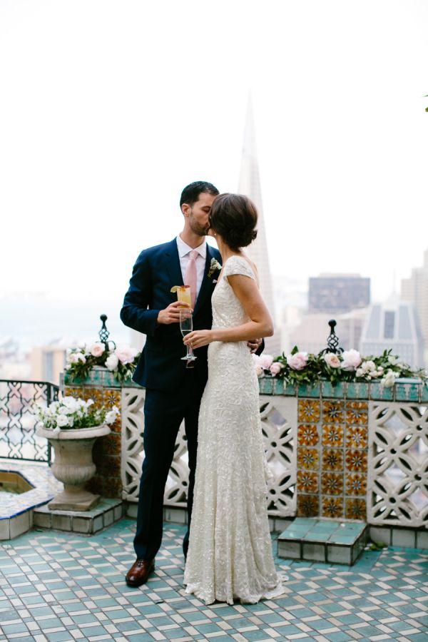 Elegant San Francisco penthouse wedding: http://www.stylemepretty.com/california-weddings/san-francisco/2015/08/19/elegant-traditional-san-francisco-penthouse-wedding/ | Photography: Gladys Jem - http://www.gladysjem.com/